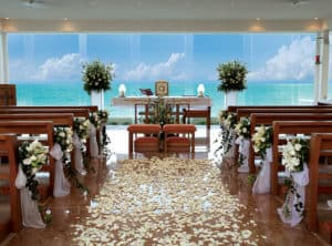Altar at Our Lady of Guadalupe Chapel Gran Caribe Resort