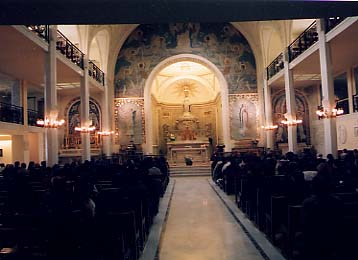 Mass at the Shrine of the Miraculous Medal