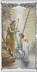 Get this St John the Baptist medal and prayer card