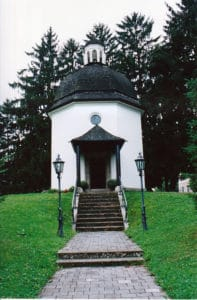 """The """"Silent Night Chapel"""" in Oberndorf"""