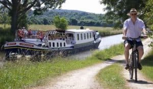 Bicycles are available on a barge cruise...great way to enjoy the scenery