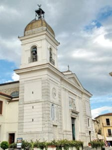 The church where Padre Pio was baptized in his home town of Pietrelcina