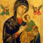 Our Mother of Perpetual Help in the Church of St Alphonsus Liguori in Rome