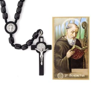 Check out this magnificent Saint Benedict Rosary