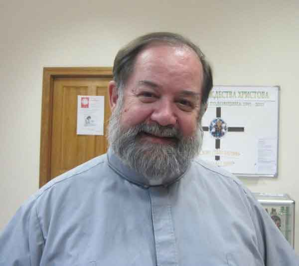 Father David, Pastor of Church of the Nativity in Madagan