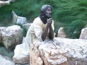 The Agony in the Garden at Shrine of Christ's Passion in Indiana