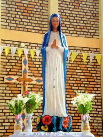 Statue of Our Lady of Kibeho