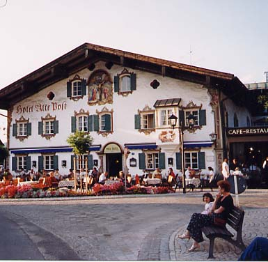 Hotel Alte Post in Oberammergau