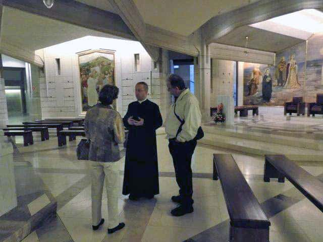 Occasionally you may find a priest to give you a tour of the John Paul II Cultural Centre in Krakow