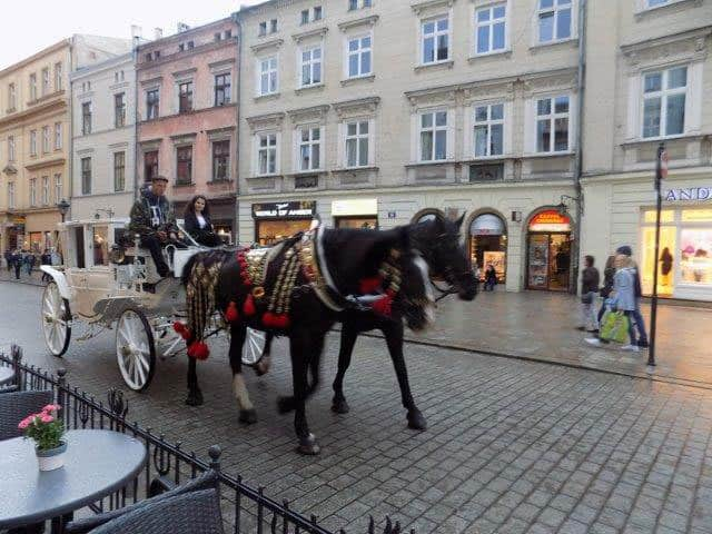 Old town in Krakow