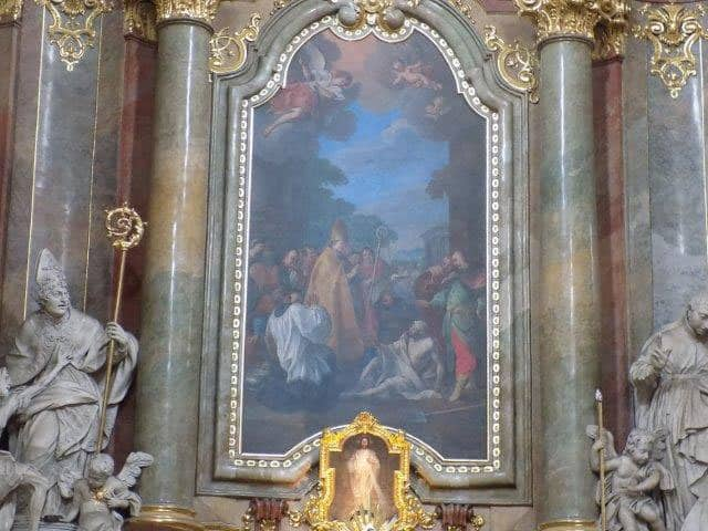 Magnificent artwork throughout the Basilica