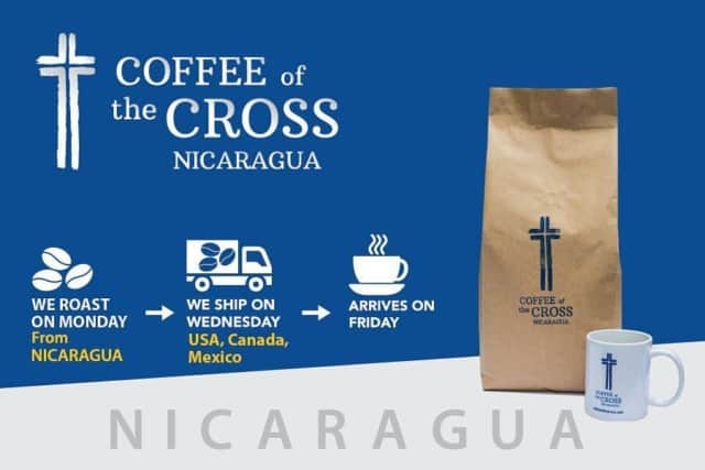 Coffee of the Cross is Roasted on Monday...arrives to you on Friday