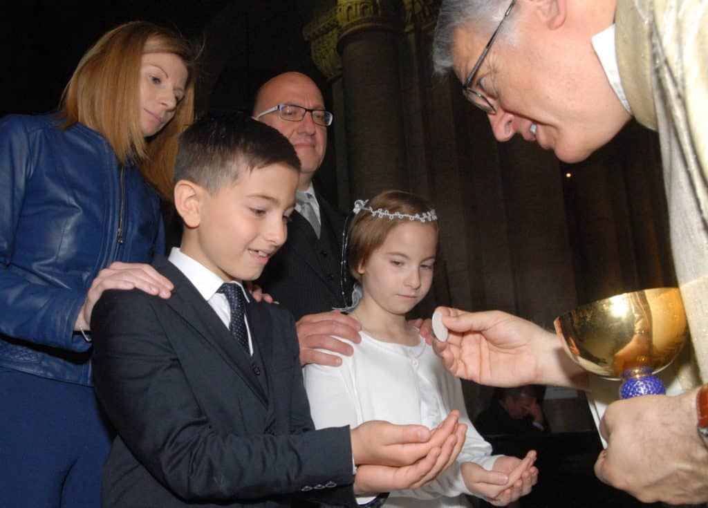 Like all parishes, First Holy Communion is a special day