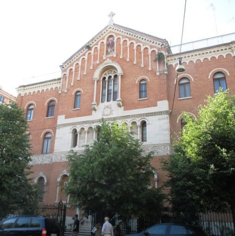 Saint Patrick's Church in Rome