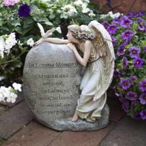 Get this Memorial Angel Garden Figure