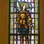 The Joan of Arc window in St. Augustine Church