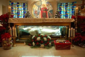 Tomb of St. John Neumann in Philadelphia