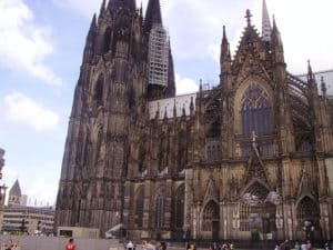 Exterior of the Cologne Cathedral