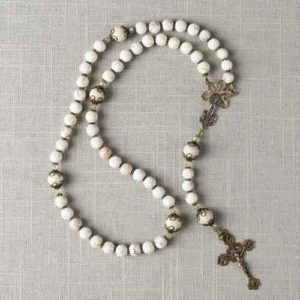 Click the image above to view this exquisite 100th annivesary Fatima Rosary