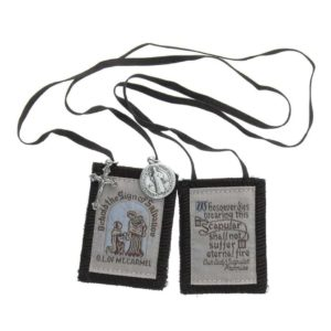 Click here to order this Brown Scapular and Medal