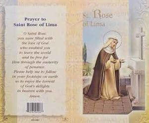 St Rose of Lima Prayer