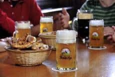 Beer brewed by the Monks at Andechs