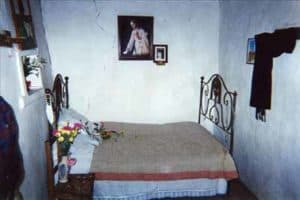 The bedroom of the house where visionary Francisco grew up