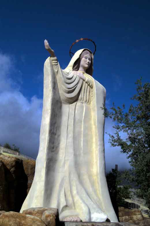 The Statue of Our Lady of the Sierras in Hereford, Arizona