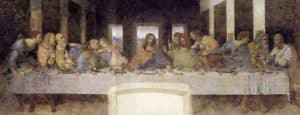 Painting of the Last Supper in Milan