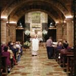 Mass at the tomb of Saint Francis