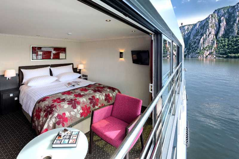 "Here is example of a ""French Balcony"":  your room becomes your balcony.  This is on the Avalon Waterways ship Artistry II"