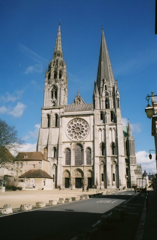 , France, Chartres:  The Chartres Cathedral