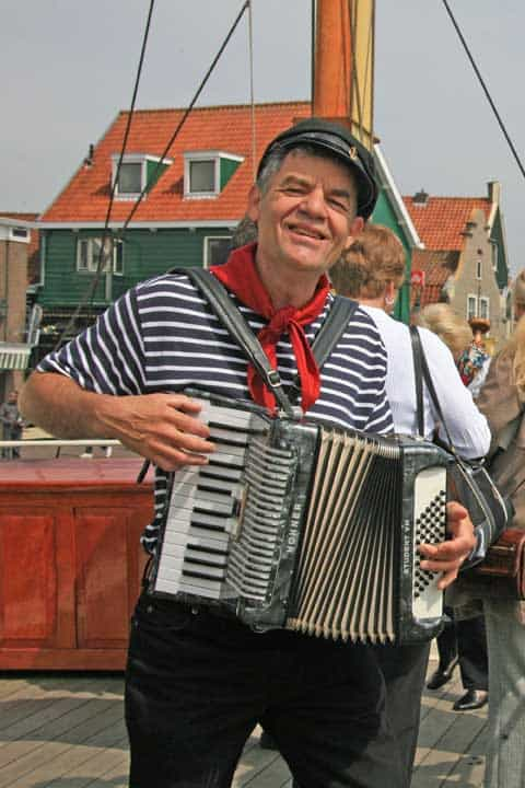 On river cruises, Often local entertainers come on board