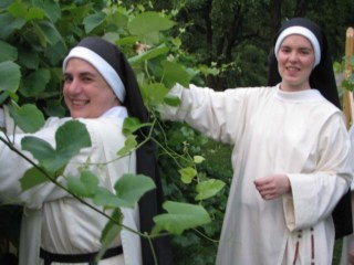 The joys of the religious life are reflected in the faces of the Sisters