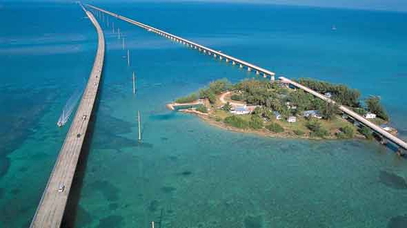 There are smaller Florida keys....and some even smaller than this!