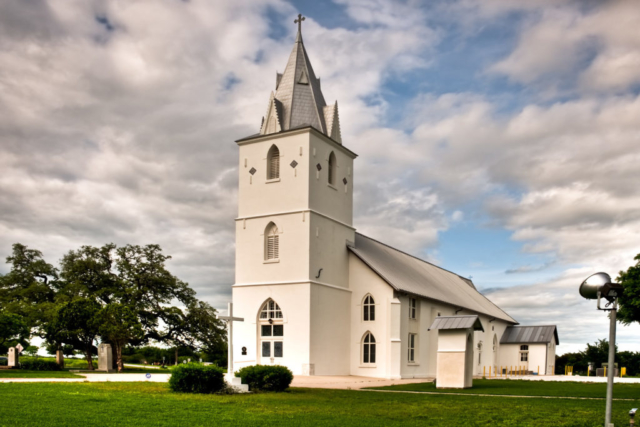 Panna Maria, Texas:  Immaculate Conception Church