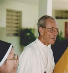 Bishop Pio Bella Ricardo, who approved the apparitions in Betania