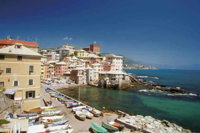 View of Genoa, Italy