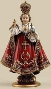 Click here to purchase this beautiful Infant Jesus of Prague statue