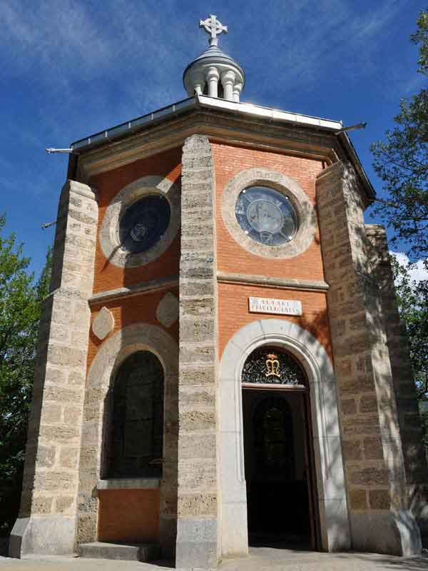 The chapel of the Precious Blood in Laus