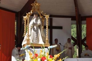 Mass at the Sanctuary of Our Lady of Laus