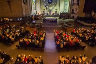 Easter Vigil Mass at Basilica of San Juan del Valle
