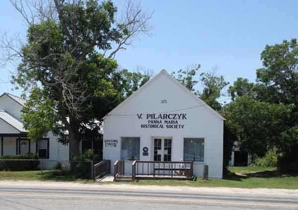 The Historical Society is a good place to start your visit to Panna Maria, Texas