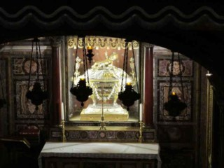 The Reliquary in the Basilica of Saint Mary Major