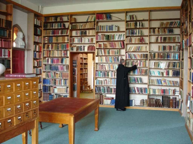 The Library at Quarr Abbey