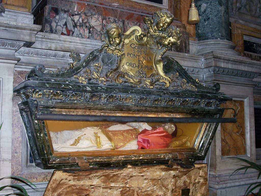 Tomb of Pope Pius V