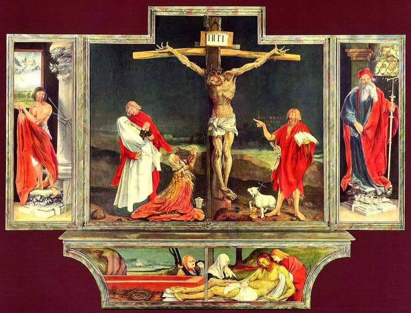 The Insenhelm_Altarpiece in the Unterlinden Museum ( Photo credit ACTA (Alscace Tourist Board)