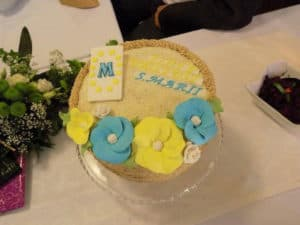 Beautiful cake for Sister Marie