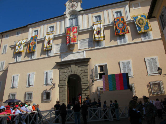 Papal retreat at Castel Gandolfo