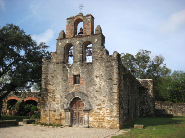 This is Mission Espada...one of the 5 Missions in San Antonio